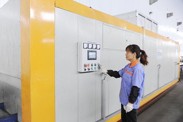 郑州泰和铝材工厂内景